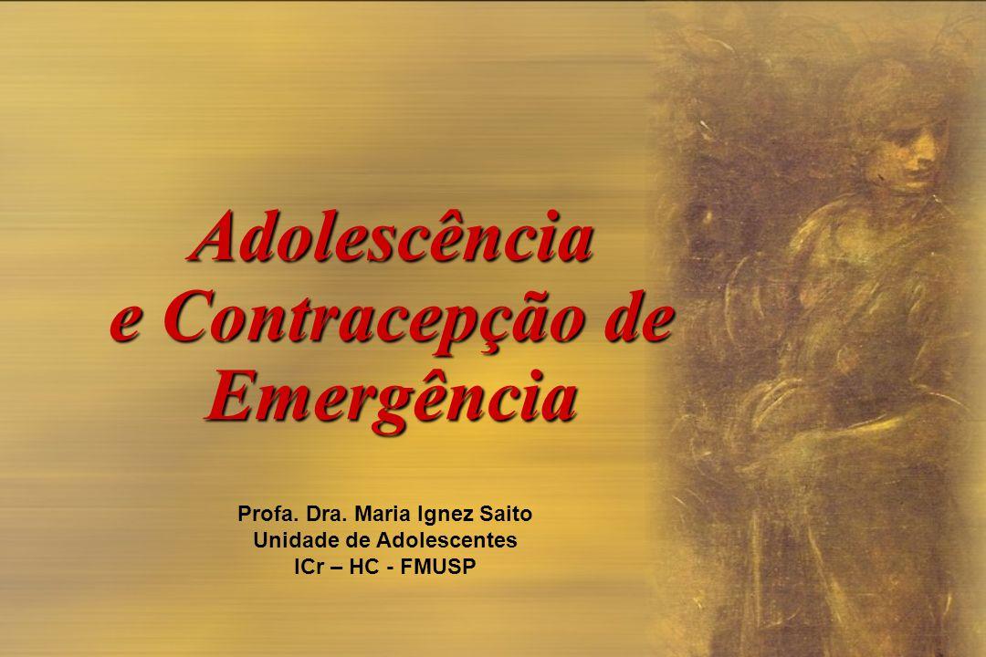 Adolescência e Contracepção de Emergência