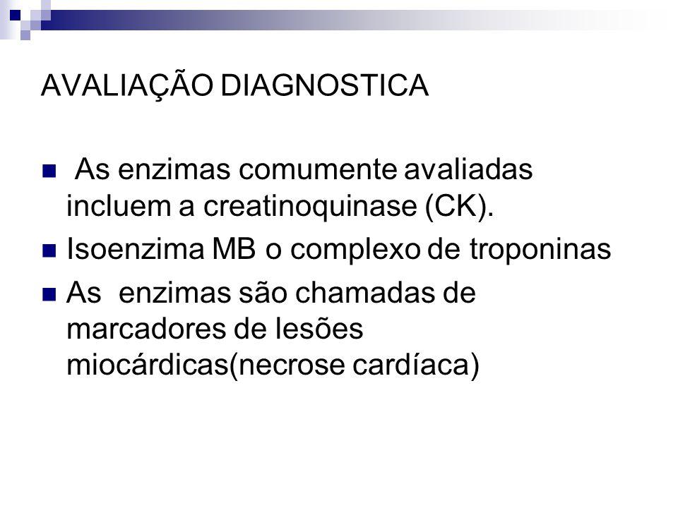 AVALIAÇÃO DIAGNOSTICA