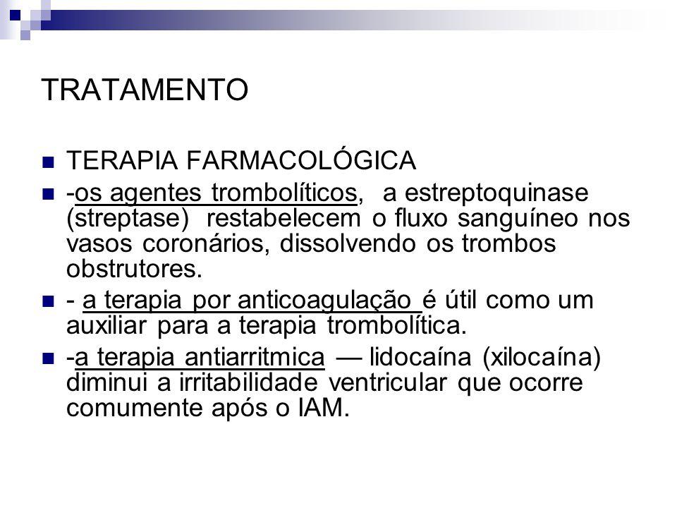 TRATAMENTO TERAPIA FARMACOLÓGICA