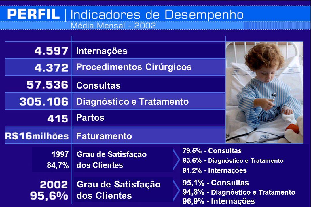 Perfil Internações Procedimentos Cirúrgicos Consultas