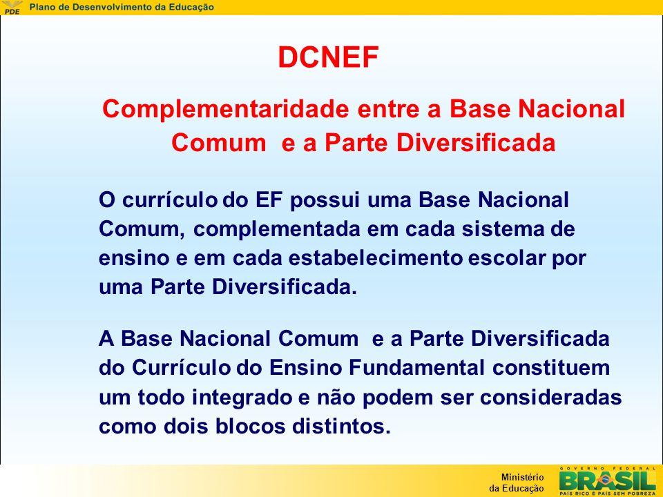Complementaridade entre a Base Nacional Comum e a Parte Diversificada