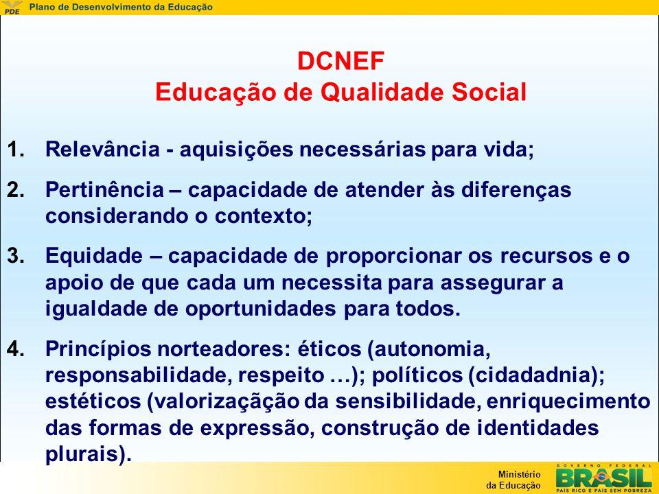 DCNEF Educação de Qualidade Social