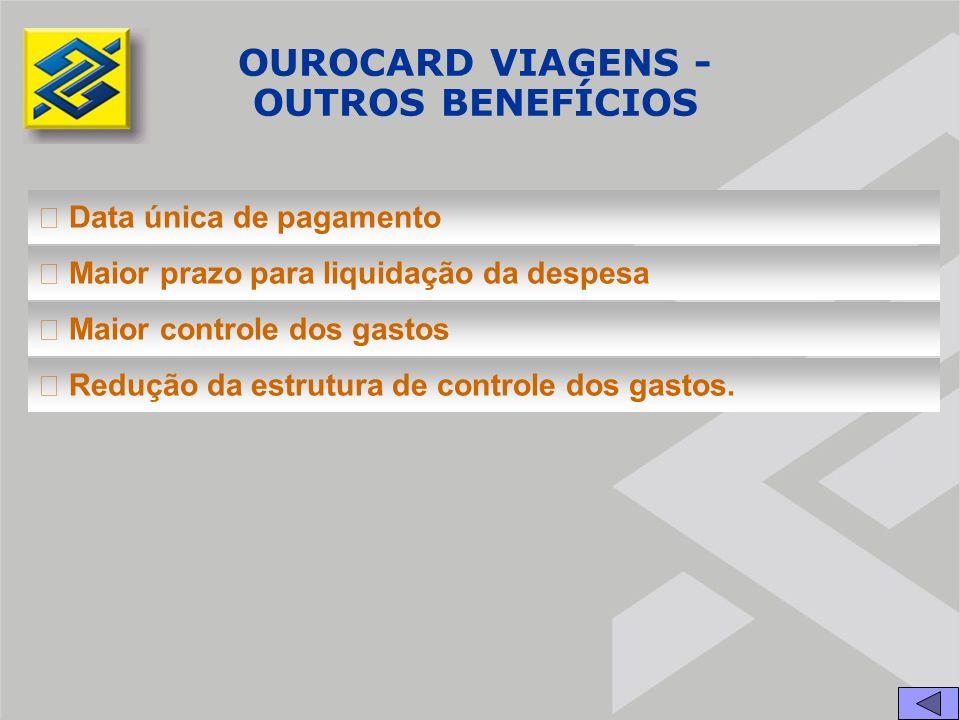 OUROCARD VIAGENS - OUTROS BENEFÍCIOS