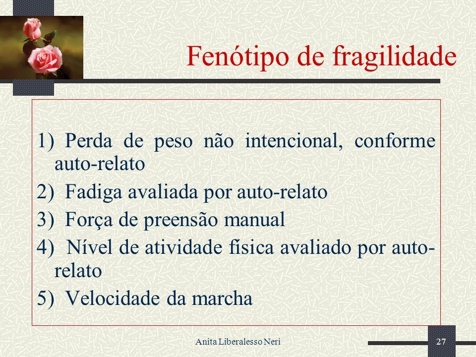 Fenótipo de fragilidade
