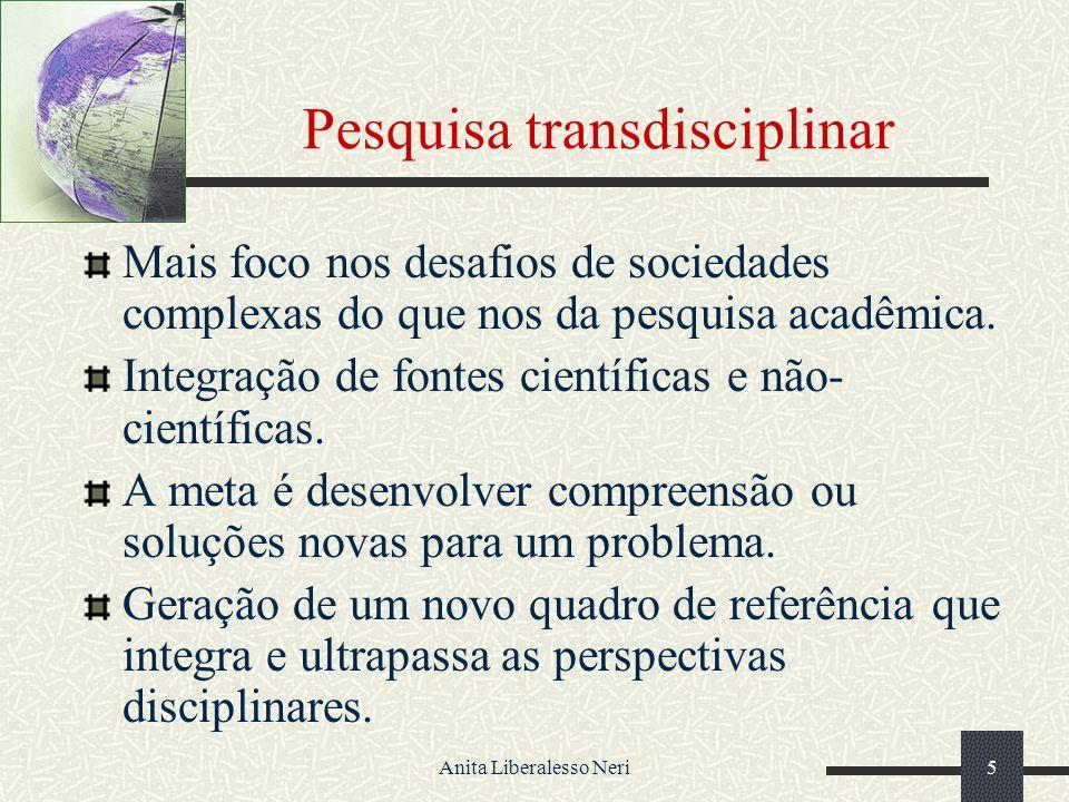 Pesquisa transdisciplinar