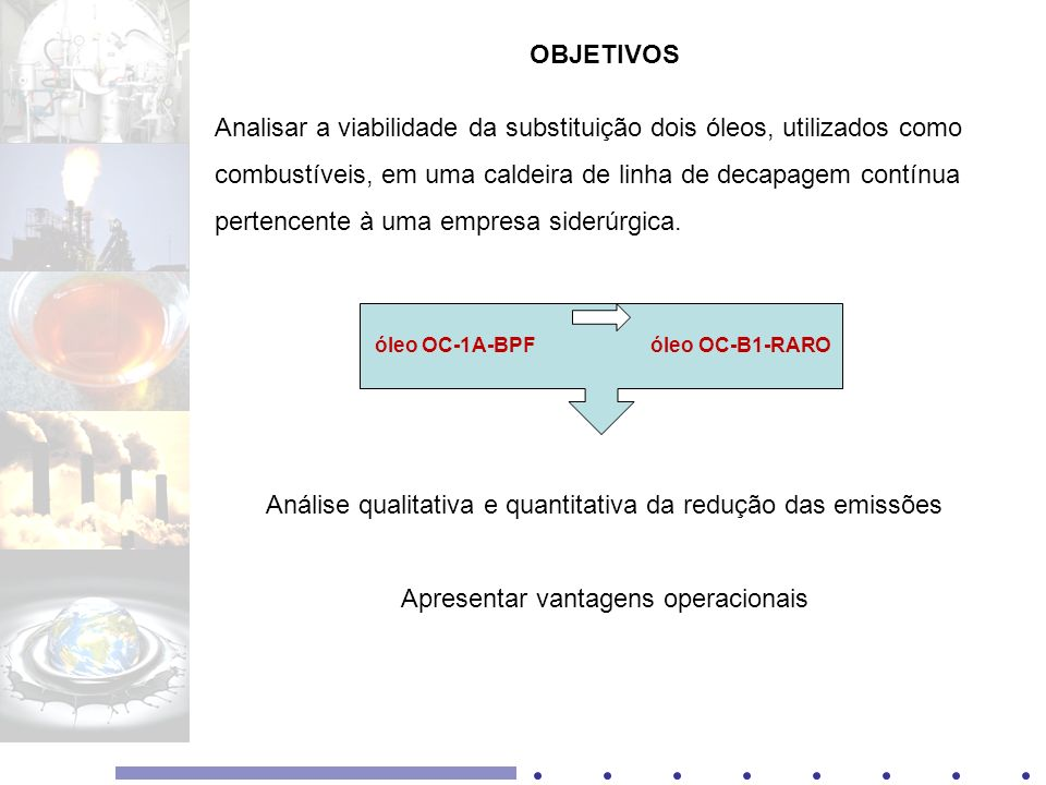 Análise qualitativa e quantitativa da redução das emissões