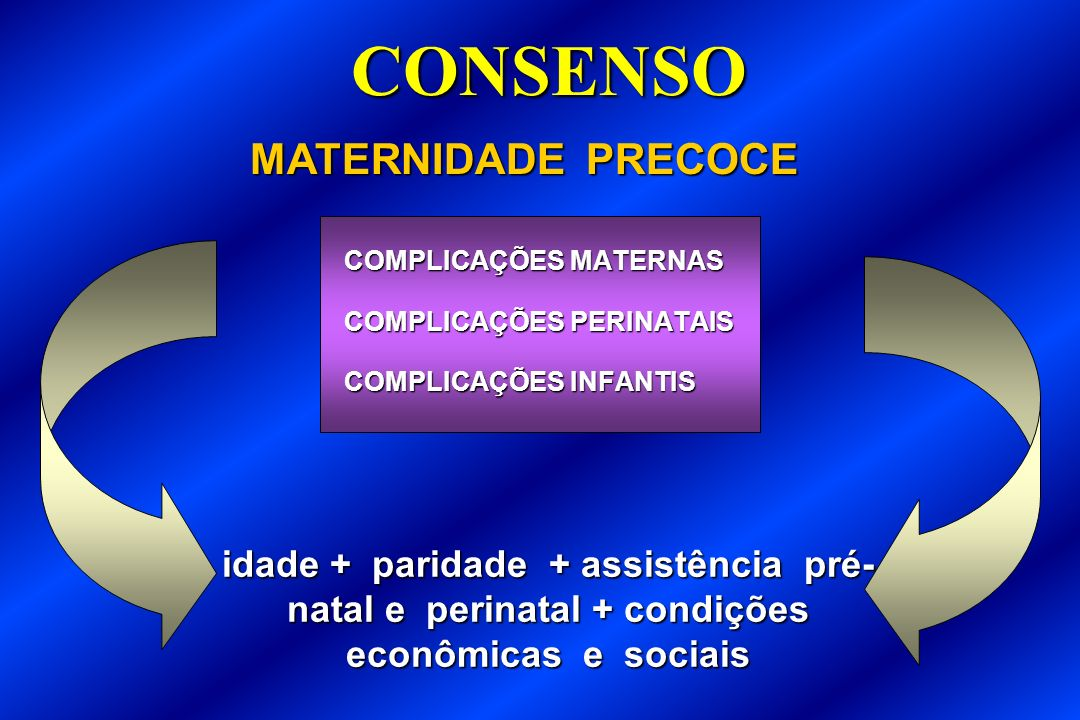 CONSENSO MATERNIDADE PRECOCE