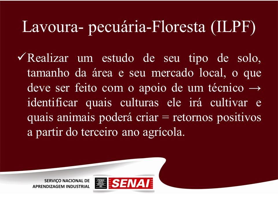 Lavoura- pecuária-Floresta (ILPF)