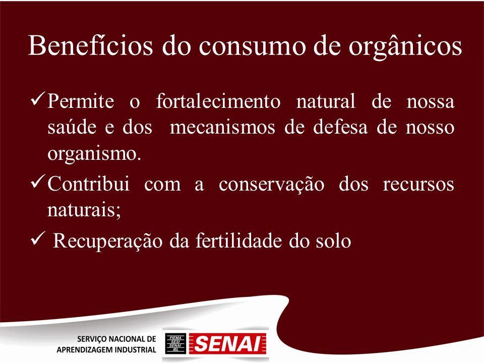 Benefícios do consumo de orgânicos
