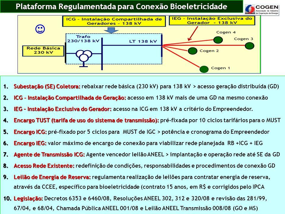 Plataforma Regulamentada para Conexão Bioeletricidade