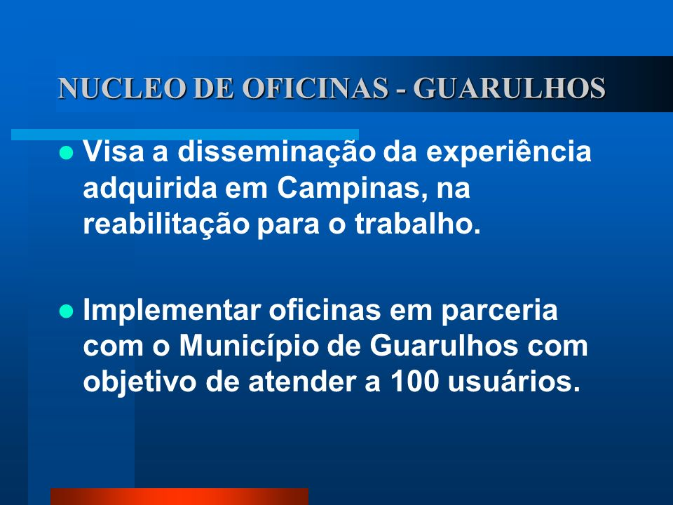 NUCLEO DE OFICINAS - GUARULHOS