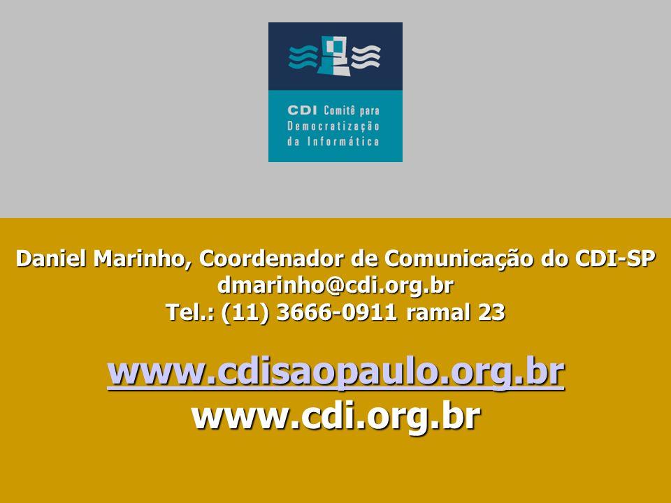 www.cdisaopaulo.org.br www.cdi.org.br