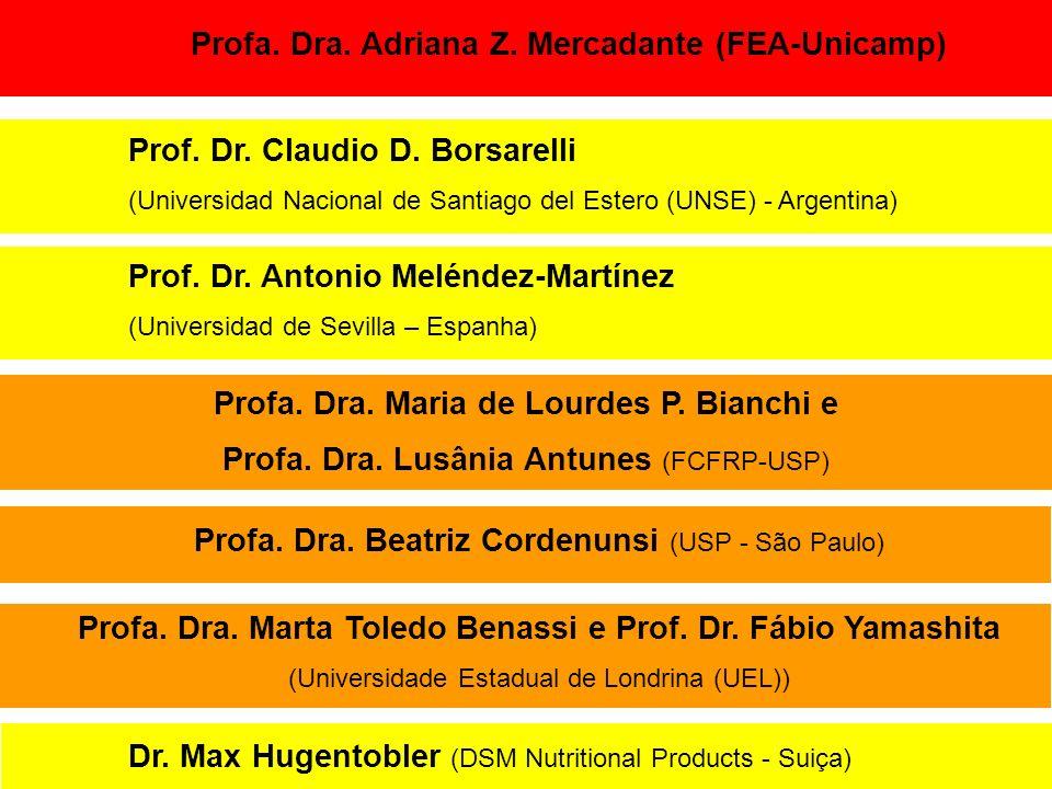 Profa. Dra. Adriana Z. Mercadante (FEA-Unicamp)