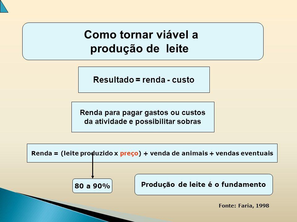 Como tornar viável a produção de leite