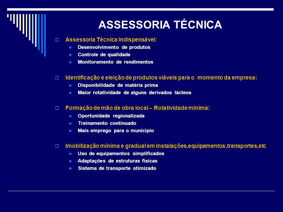 ASSESSORIA TÉCNICA Assessoria Técnica Indispensável:
