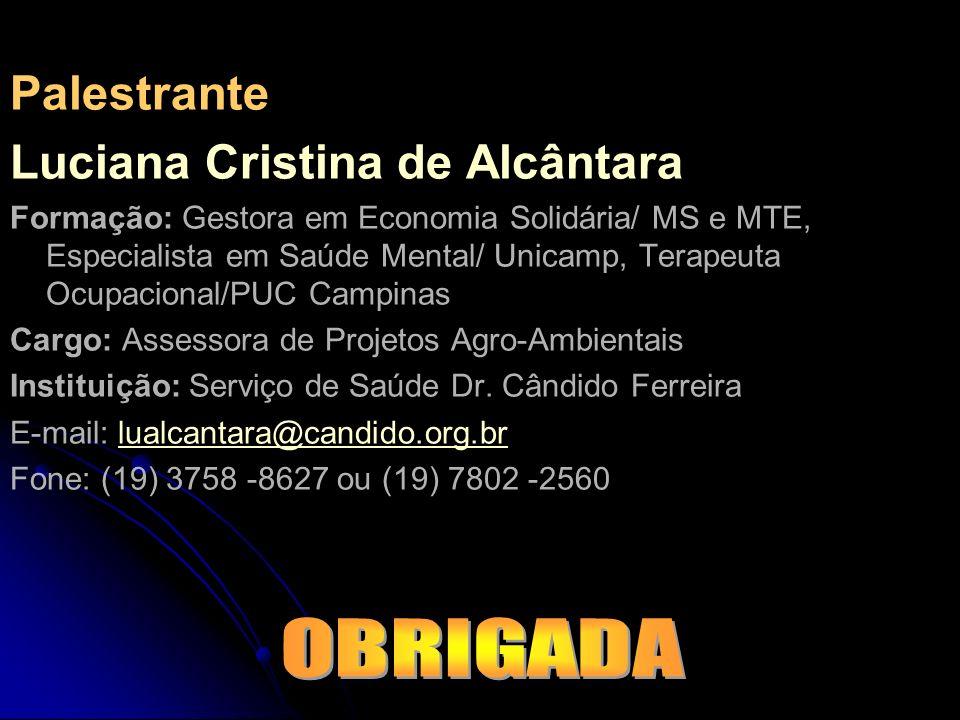 Luciana Cristina de Alcântara