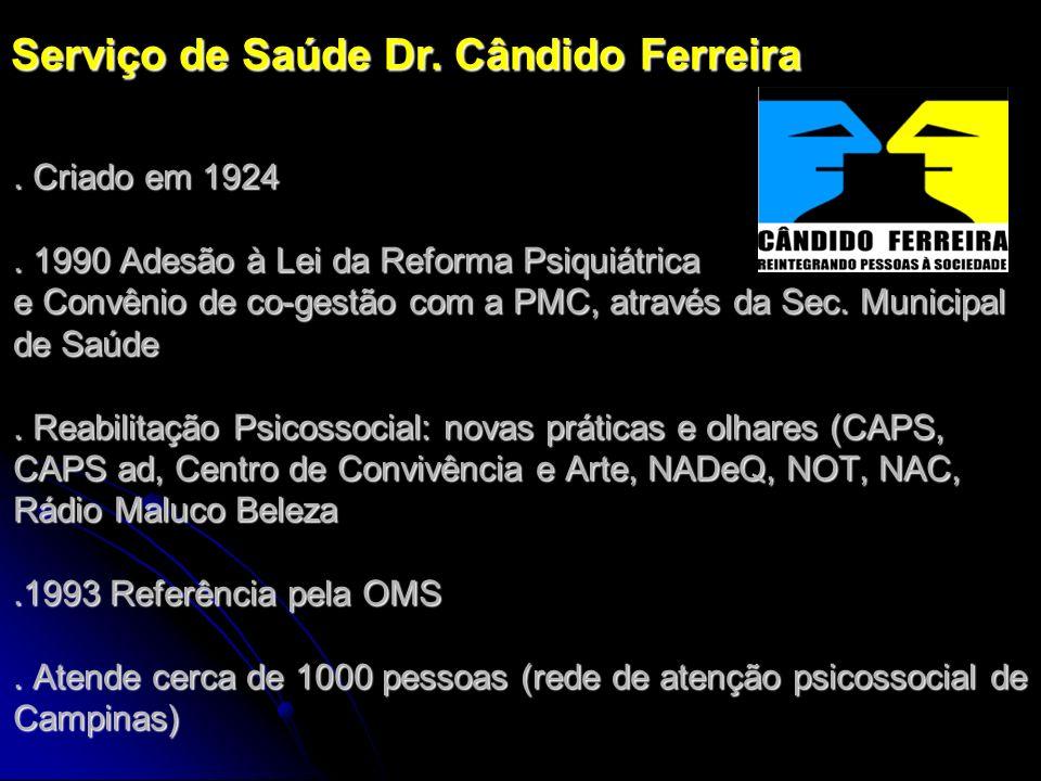 Serviço de Saúde Dr. Cândido Ferreira