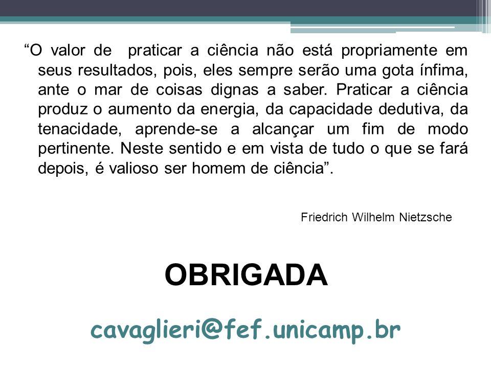 OBRIGADA cavaglieri@fef.unicamp.br