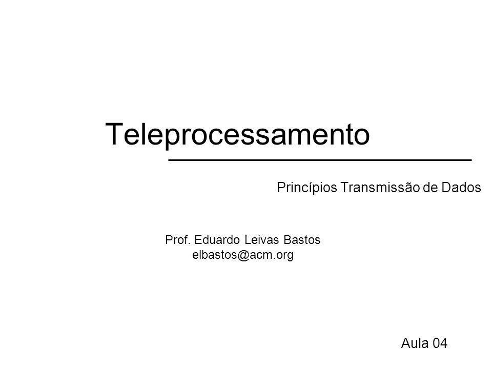 Princípios Transmissão de Dados