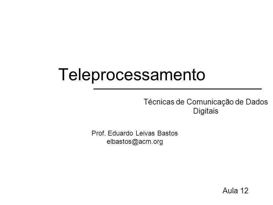 Técnicas de Comunicação de Dados Digitais