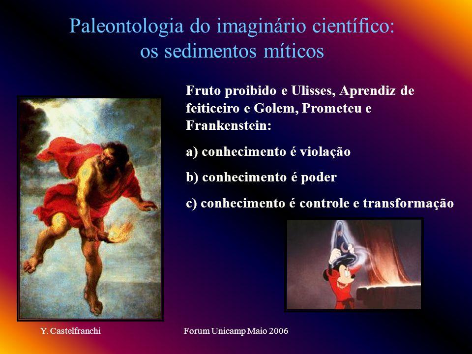 Paleontologia do imaginário científico: os sedimentos míticos
