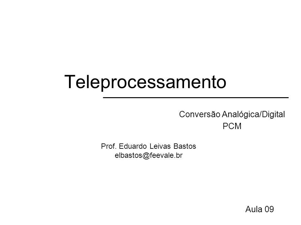 Conversão Analógica/Digital PCM