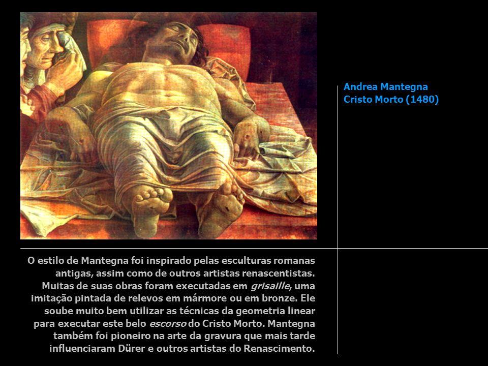 Andrea Mantegna Cristo Morto (1480)