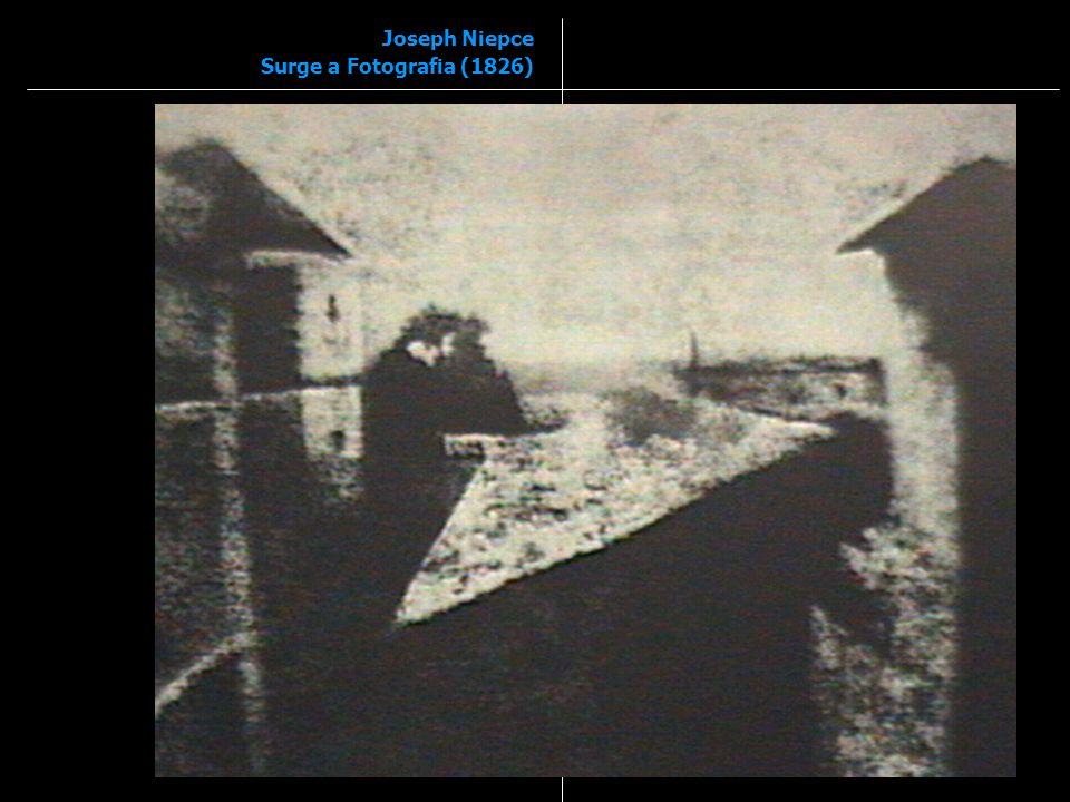 Joseph Niepce Surge a Fotografia (1826)