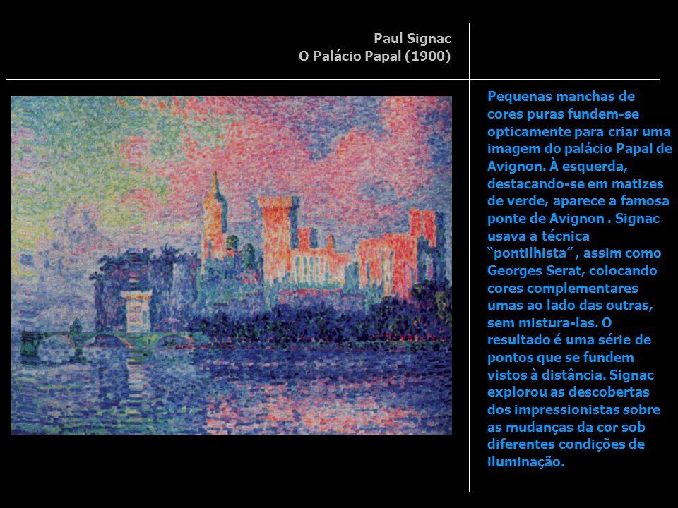 Paul Signac O Palácio Papal (1900)