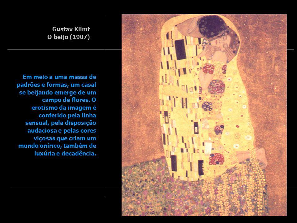 Gustav Klimt O beijo (1907)