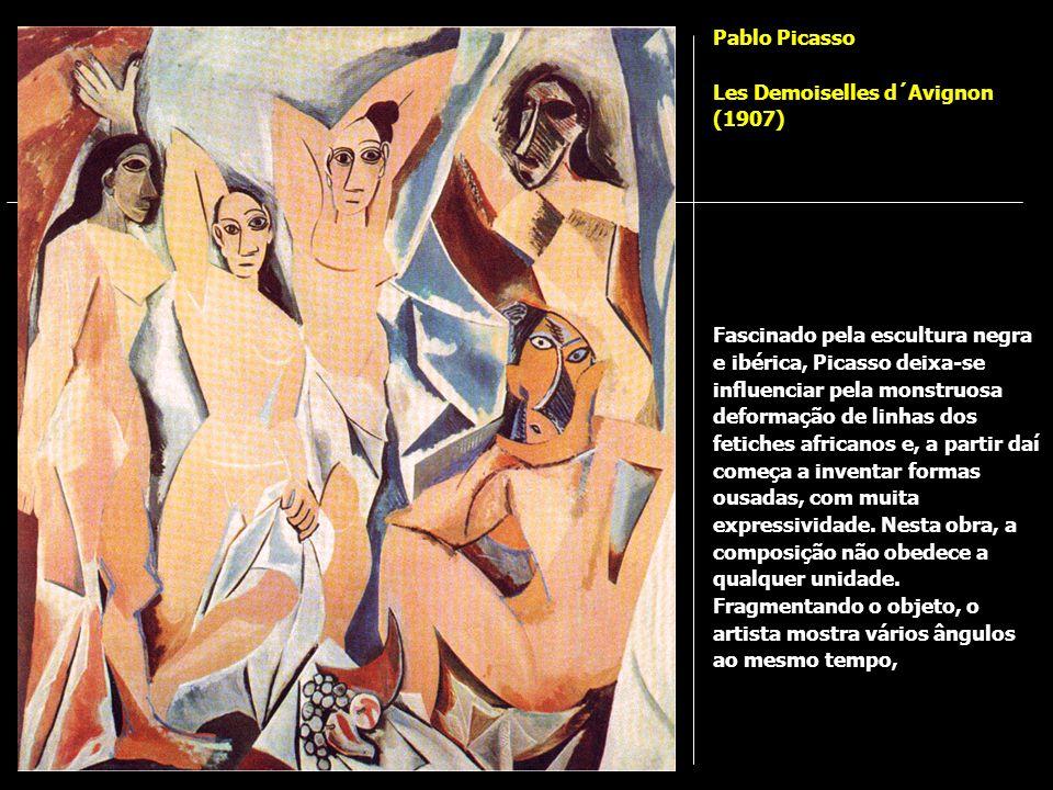 Pablo Picasso Les Demoiselles d´Avignon (1907)