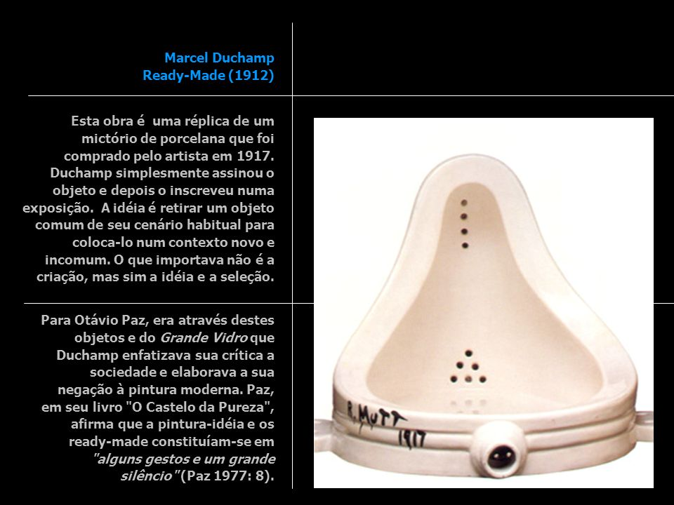 Marcel Duchamp Ready-Made (1912)