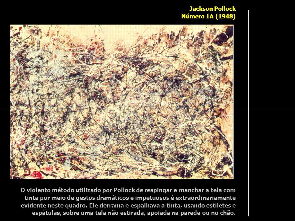 Jackson Pollock Número 1A (1948)