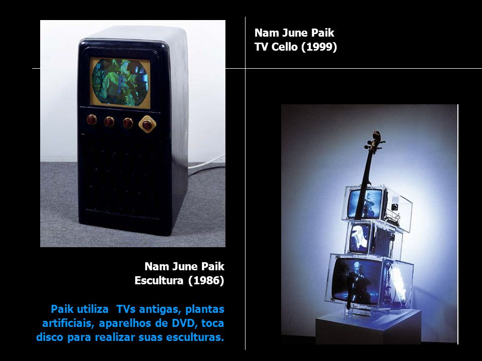 Nam June Paik TV Cello (1999)