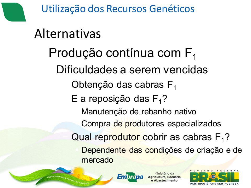 Utilização dos Recursos Genéticos