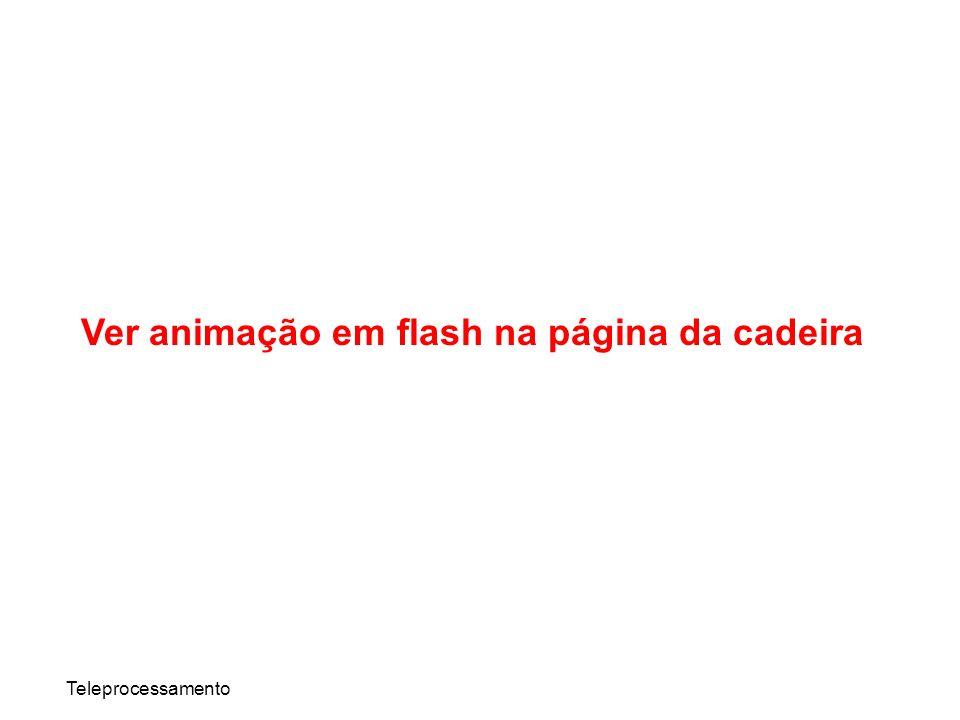 Ver animação em flash na página da cadeira