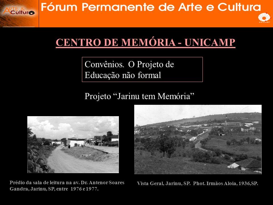CENTRO DE MEMÓRIA - UNICAMP