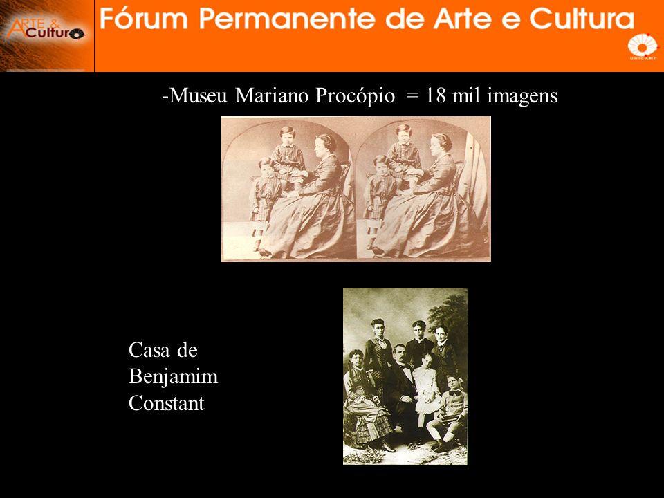 Museu Mariano Procópio = 18 mil imagens