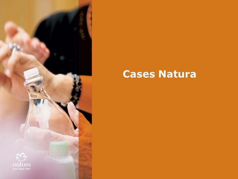 Cases Natura Apresentar o assunto do bloco: