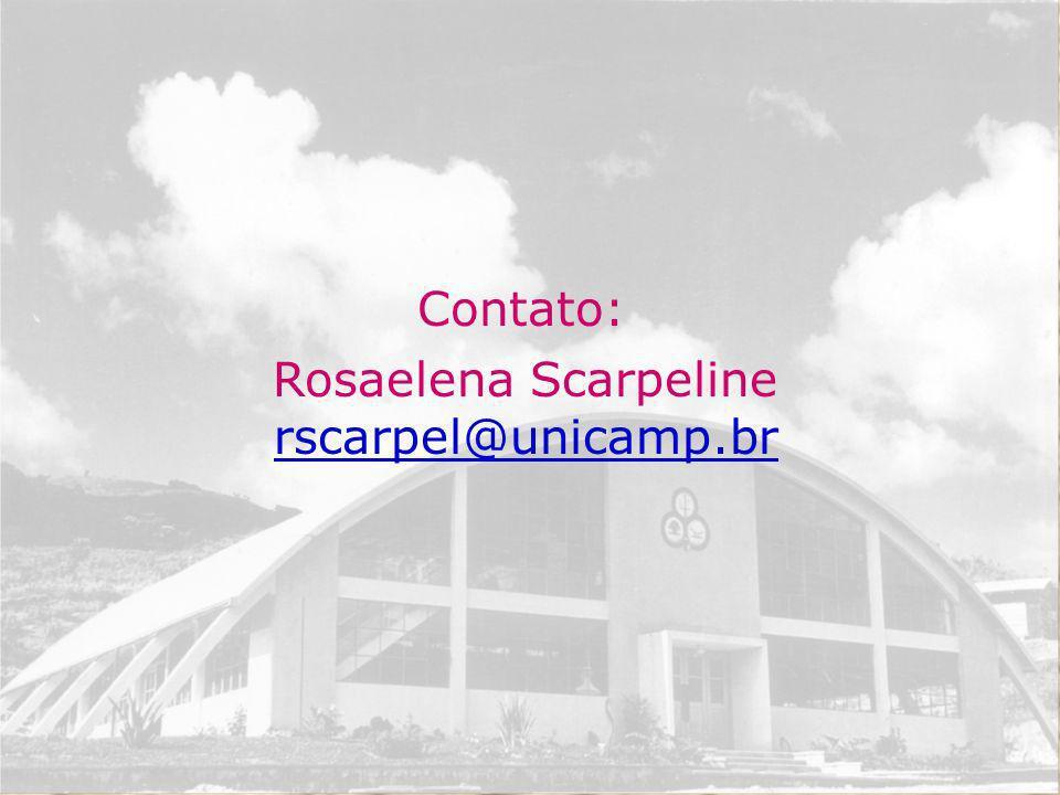 Rosaelena Scarpeline rscarpel@unicamp.br
