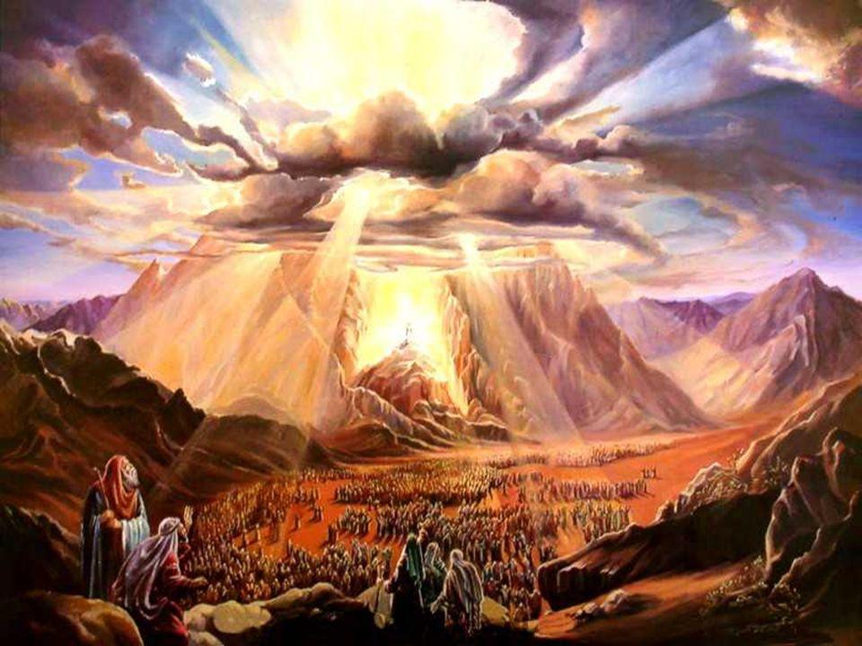 Deus tinha feito uma ALIANÇA no Sinai,