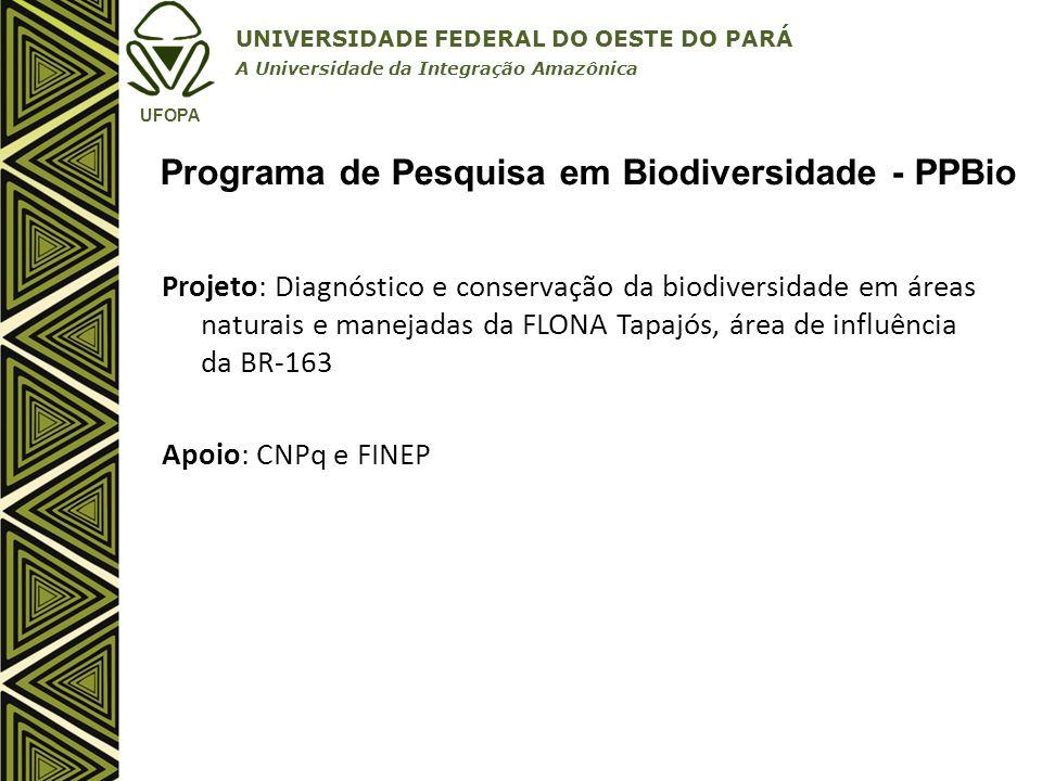 Programa de Pesquisa em Biodiversidade - PPBio