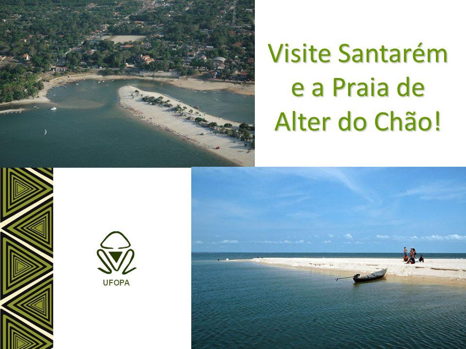 Visite Santarém e a Praia de Alter do Chão!