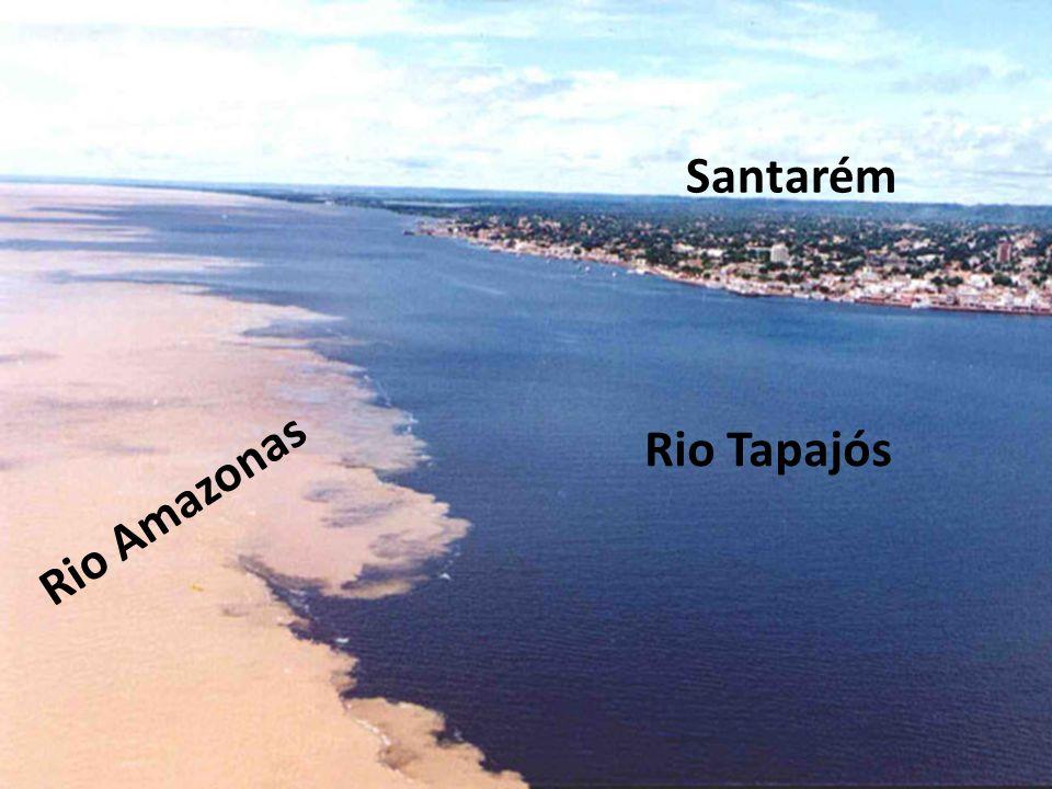 Santarém Rio Tapajós Rio Amazonas