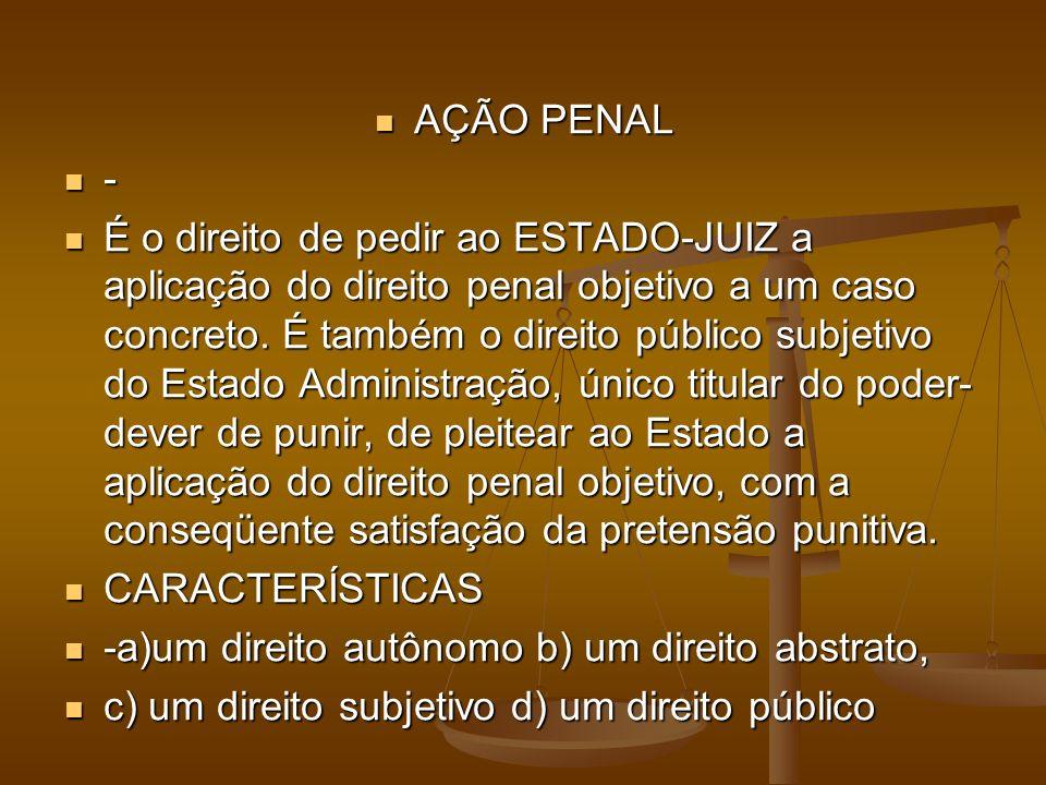 AÇÃO PENAL -