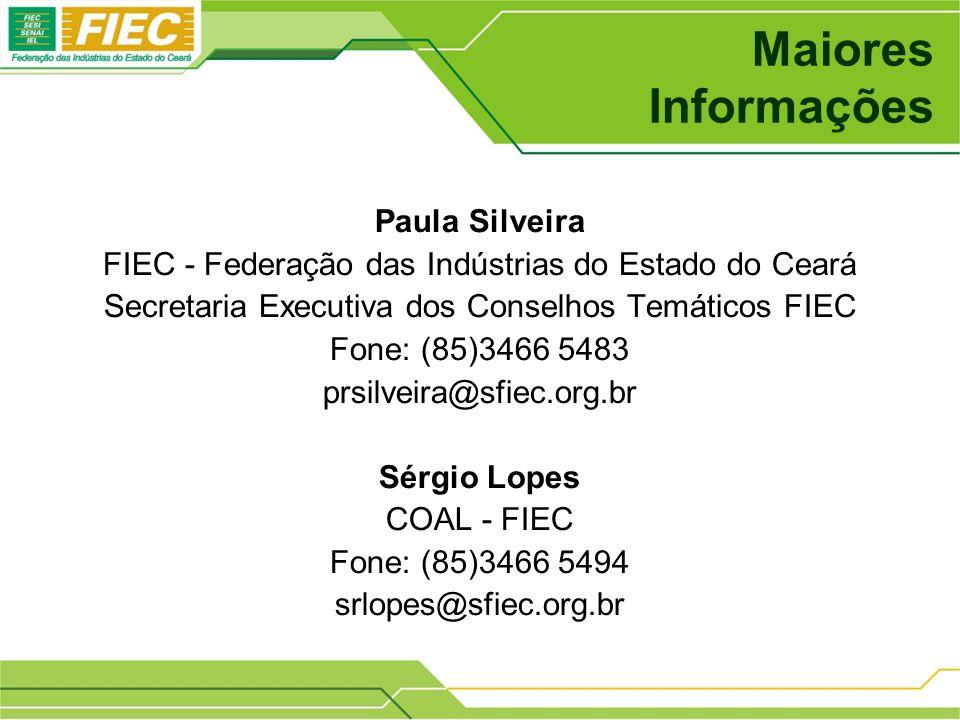 Maiores Informações Paula Silveira