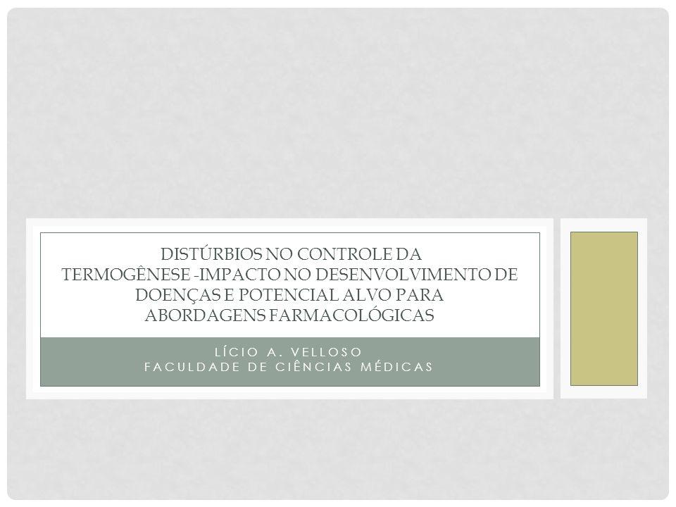 LÍCIO A. VELLOSO FACULDADE DE CIÊNCIAS MÉDICAS