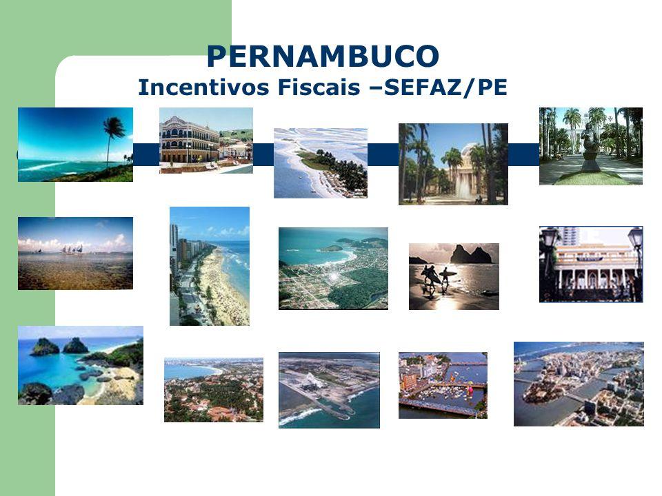 Incentivos Fiscais –SEFAZ/PE
