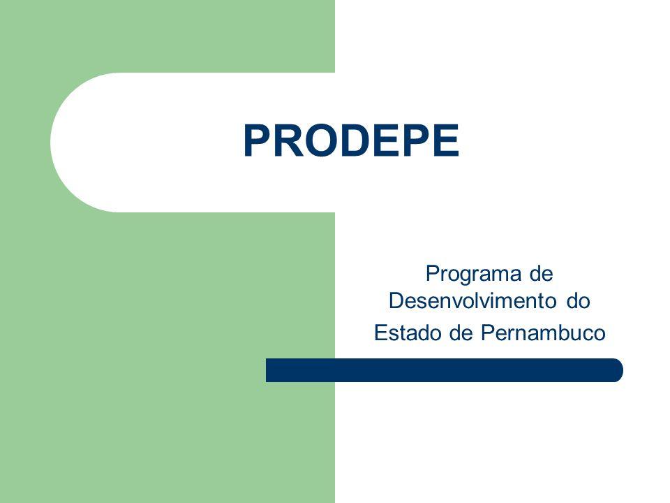Programa de Desenvolvimento do Estado de Pernambuco