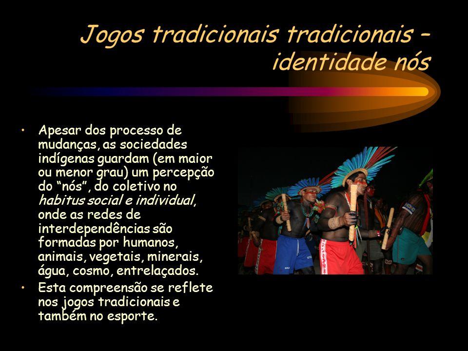 Jogos tradicionais tradicionais – identidade nós